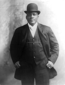 Jack Johnson Portrait